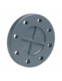 Заглушка ПВХ серый Дн 110 Ру10/16 фланцевая EFFAST RDRFCD1100