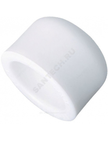 Заглушка (пробка) PP-R белая внутренняя пайка Дн 50 РосТурПласт 10552