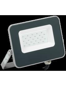 Прожектор LED СДО 07-20B blue IP65 серый IEK