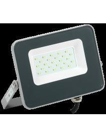Прожектор LED СДО 07-20G green IP65 серый IEK