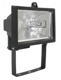 Прожектор ИО150 галогенный черный IP54 ИЭК