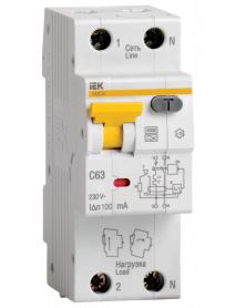 АВДТ 32 C16 - Автоматический Выключатель Дифф. тока