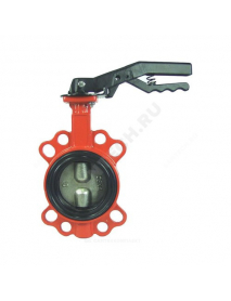 Затвор дисковый поворотный чугун BFV-01/W межфл манжета EPDM DINANSI